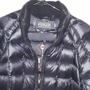 Pendleton down coat, womens size small/petite